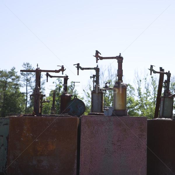 古い 産業 機械 金属 オブジェクト ストックフォト © iofoto