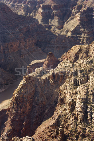 Colorado nehir güneybatı çöl kanyon Stok fotoğraf © iofoto