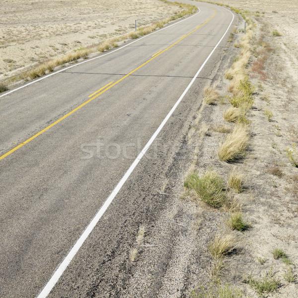 út tájkép Utah terméketlen utazás szín Stock fotó © iofoto