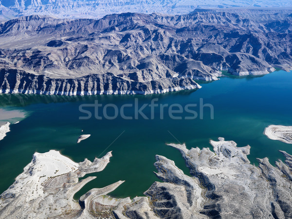Aerial of Lake Mead. Stock photo © iofoto
