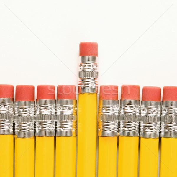 Row of pencils. Stock photo © iofoto