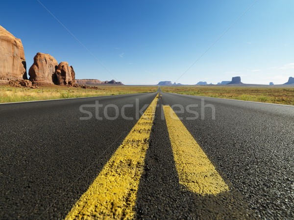 Open desert road. Stock photo © iofoto