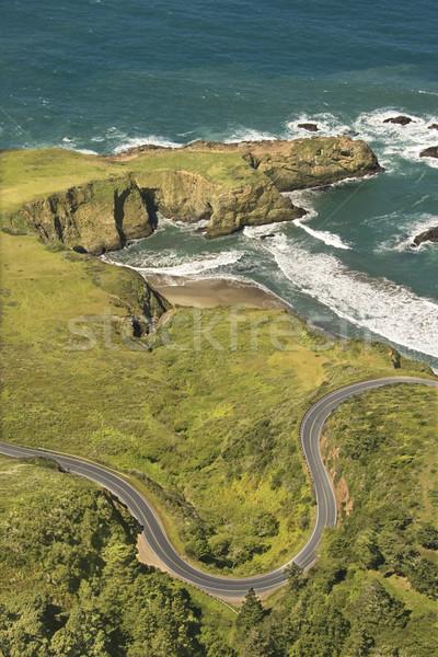 Coastal highway. Stock photo © iofoto
