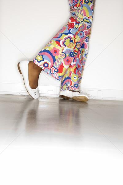 Floral pants. Stock photo © iofoto