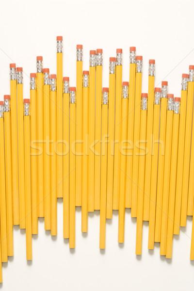 Irregolare fila matite business ufficio studio Foto d'archivio © iofoto