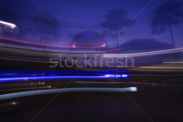 Motion blur landscape. Stock photo © iofoto