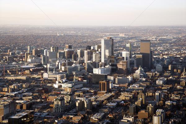 Denver Colorado Cityscape Stock photo © iofoto