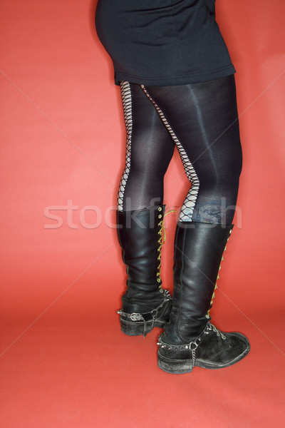 Woman's legs with boots. Stock photo © iofoto