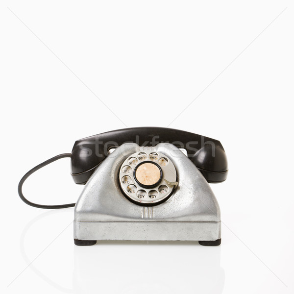 Rotary telephone. Stock photo © iofoto