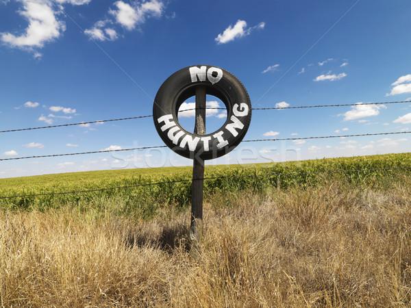No Hunting notice. Stock photo © iofoto