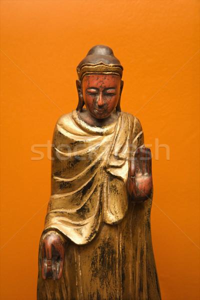 Будду статуя один стороны Сток-фото © iofoto
