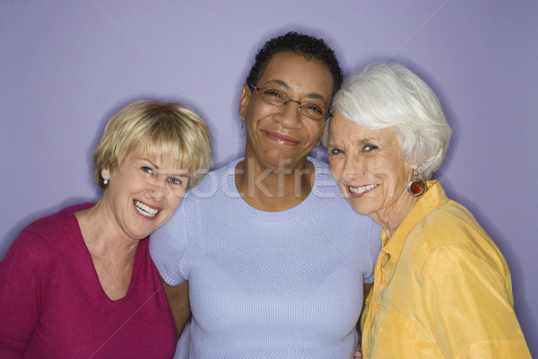 Portrait of three women. Stock photo © iofoto