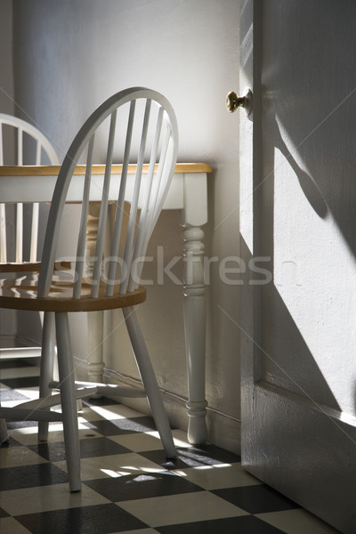 Sunlight lit kitchen. Stock photo © iofoto