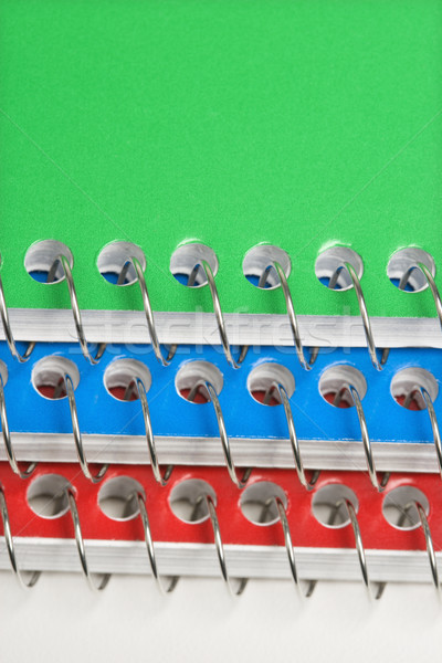 Spiral bound notebooks. Stock photo © iofoto