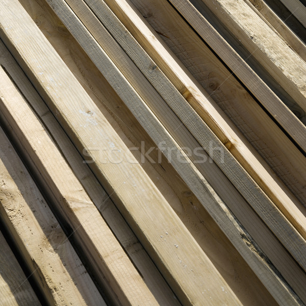 Collection of Lumber Stock photo © iofoto