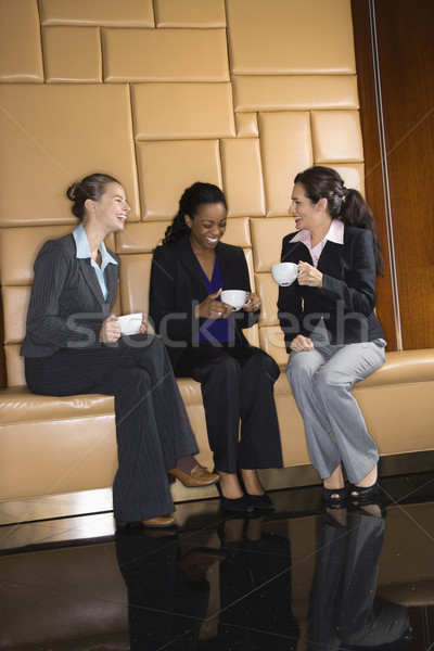 Businesswomen with coffee. Stock photo © iofoto