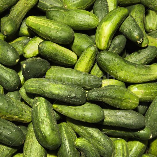 Fresh cucumbers. Stock photo © iofoto