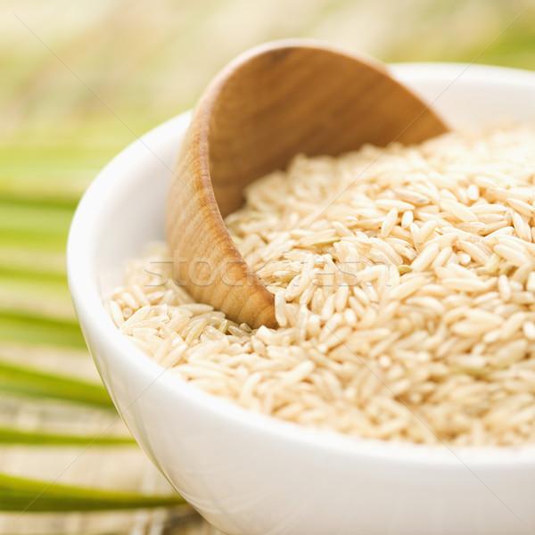 Grain in a White Ceramic Bowl Stock photo © iofoto