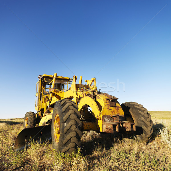 トラクター フィールド 黄色 業界 農業 機械 ストックフォト © iofoto