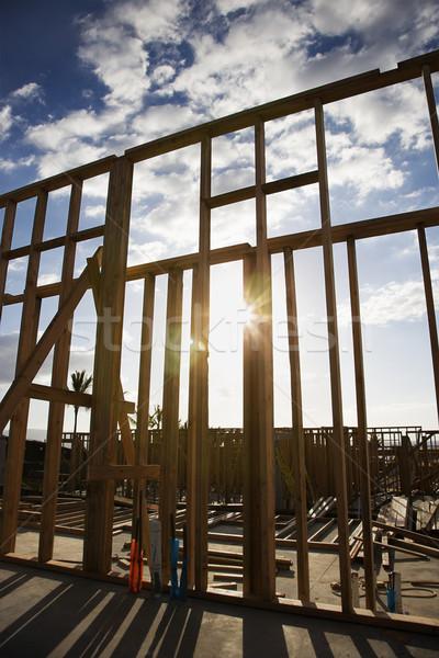 Construction site. Stock photo © iofoto