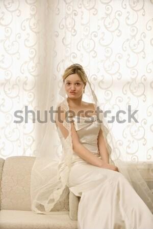Stressed bride. Stock photo © iofoto
