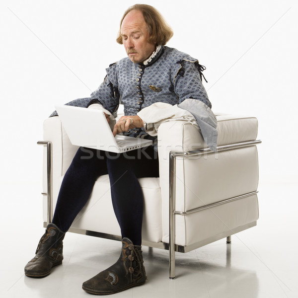 Shakespeare on laptop computer. Stock photo © iofoto