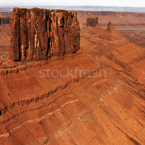 Park Utah antenne landschap Verenigde Staten natuur Stockfoto © iofoto