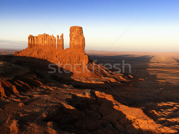 Monument Valley mesa landscape. Stock photo © iofoto