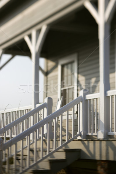 вход дома крыльцо путешествия Сток-фото © iofoto