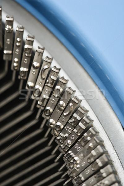 Typewriter typebars. Stock photo © iofoto