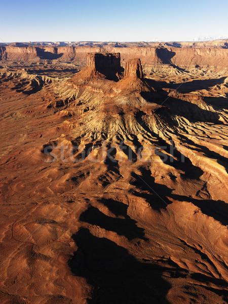 Parku Utah antena krajobraz Stany Zjednoczone charakter Zdjęcia stock © iofoto