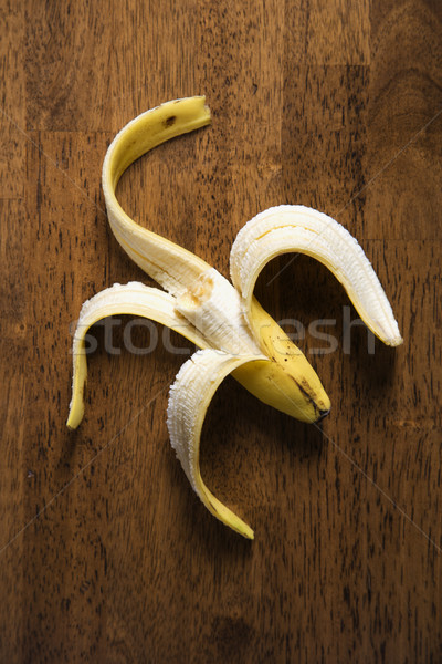 Half eaten banana. Stock photo © iofoto
