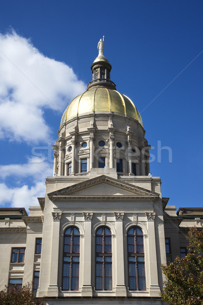 Georgië gebouw atlanta goud kleur architectuur Stockfoto © iofoto