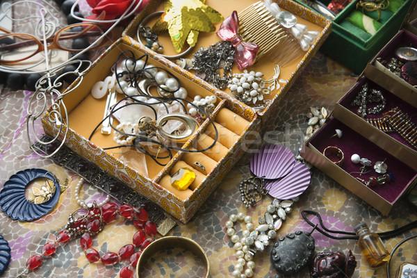 Open jewelry box. Stock photo © iofoto