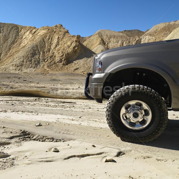 Truck in Death Valley. Stock photo © iofoto