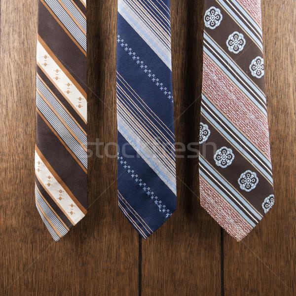 Retro pattern neckties. Stock photo © iofoto