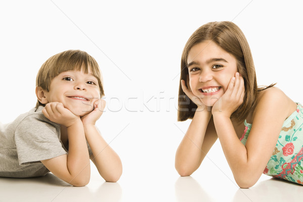Children smiling. Stock photo © iofoto