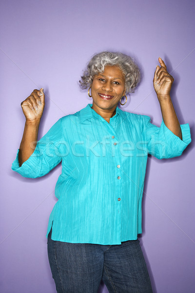 Woman dancing. Stock photo © iofoto