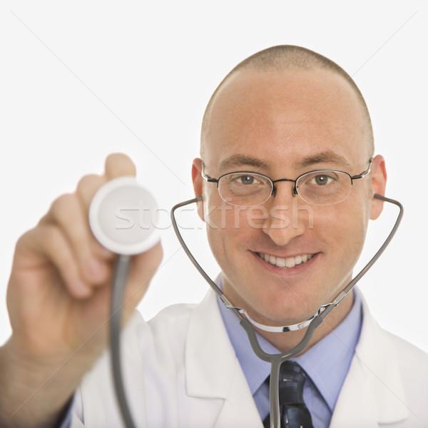 мужчины кавказский врач взрослый врач Сток-фото © iofoto