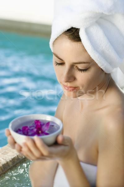Woman at spa. Stock photo © iofoto