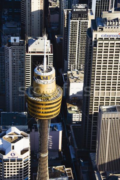 Stock fotó: Torony · Ausztrália · légifelvétel · amper · Sydney · város