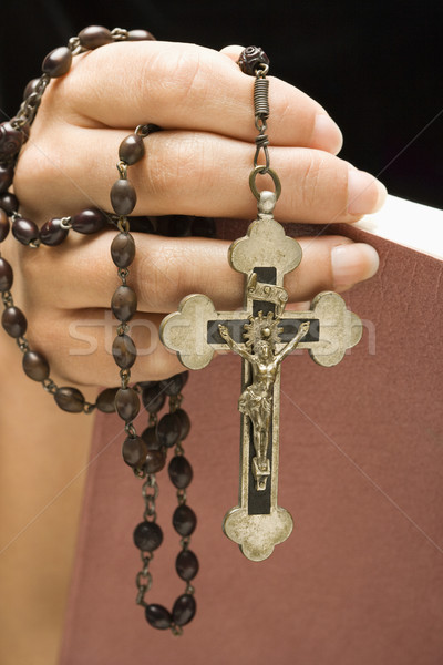 Religious woman. Stock photo © iofoto