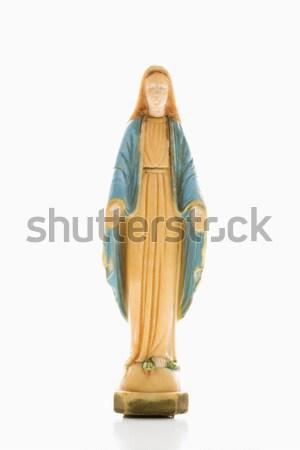 Virgin Mary statue. Stock photo © iofoto