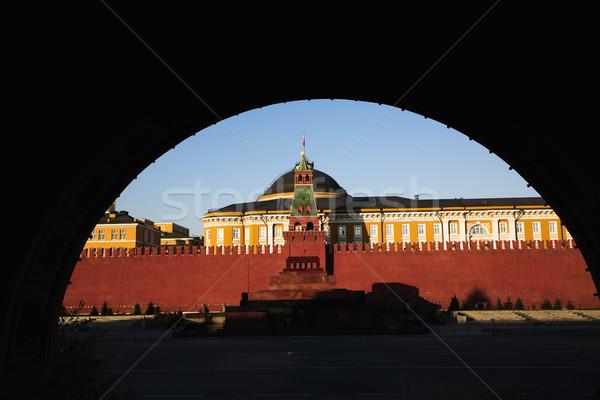 Кремль арки вход Москва Россия горизонтальный Сток-фото © iofoto