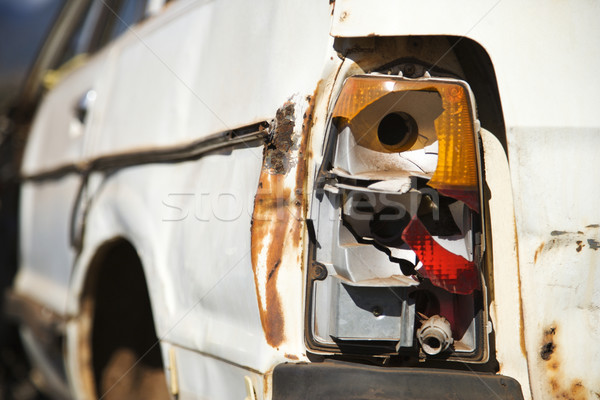 Busted taillight. Stock photo © iofoto