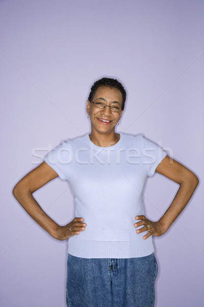 Portrait of happy woman. Stock photo © iofoto