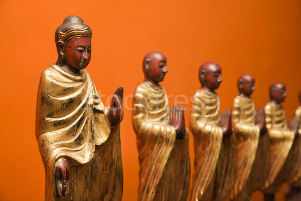 Buddhist statues. Stock photo © iofoto