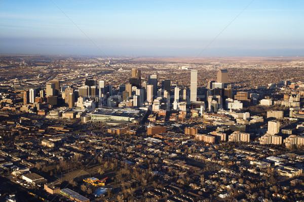 Cityscape Colorado ABD kentsel Amerika Birleşik Devletleri Stok fotoğraf © iofoto