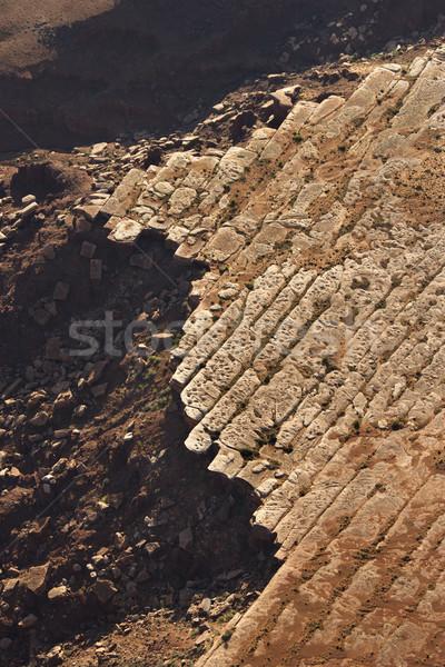 Falaise Rock élevé désert Utah Photo stock © iofoto