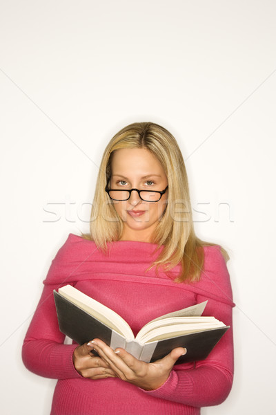 Girl reading. Stock photo © iofoto